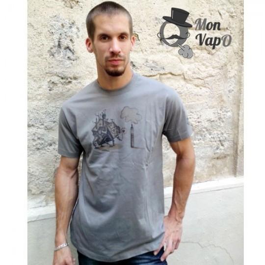 T-Shirt Vape - VapO LOve - Ô Mon VapO