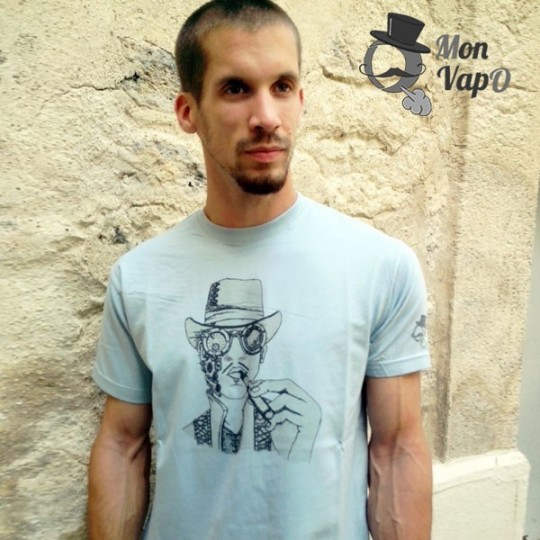 T-Shirt Vape - SteamVape - Ô Mon VapO