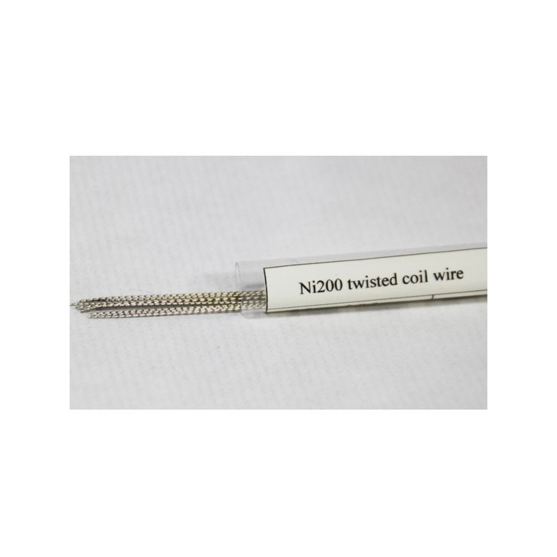 Ni200 Twisted Wire 0,4 x 0,4