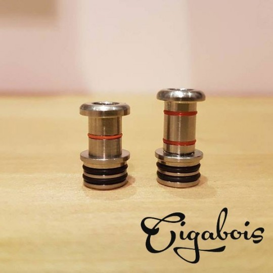 Base Drip Tip Modulable Cigabois tailles