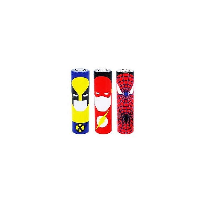 Wrap Accu Super héros 1