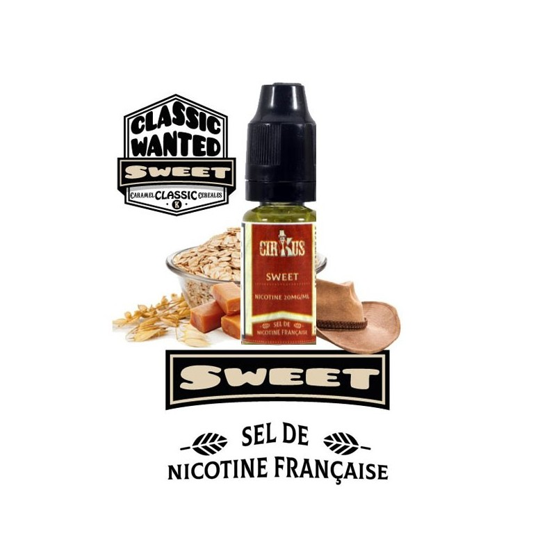 Classic Wanted Sweet - Sels de Nicotine - VDLV e-Liquide