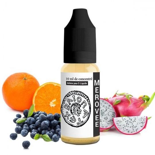 Arôme DIY Mérovée - Arôme 814 goût fruits rouges pomme agrûmes