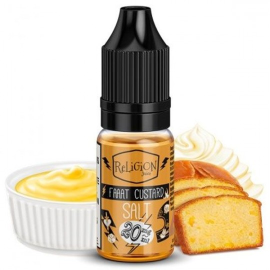 Faaat Custard Salt - Religion Juice e-Liquide