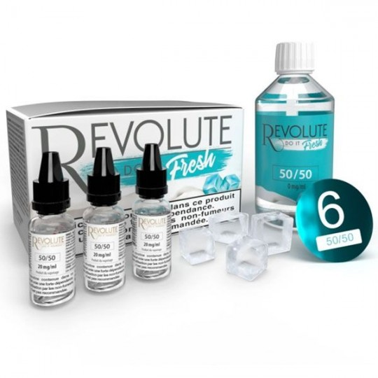 Base DIY Do It Fresh 100 ml - Revolute