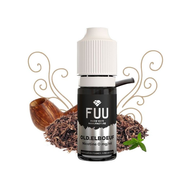 Flacon Old Elboeuf  - Liquide The Fuu goût tabac