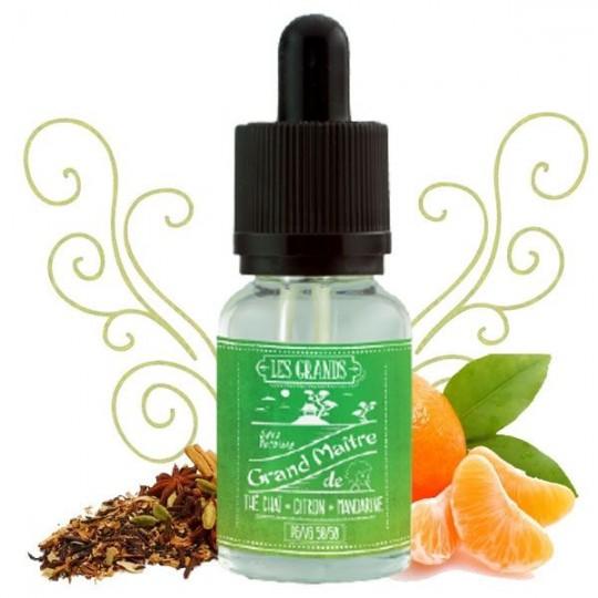 Fiole liquide Le Grand Maître - VDLV gout the mandarine citron