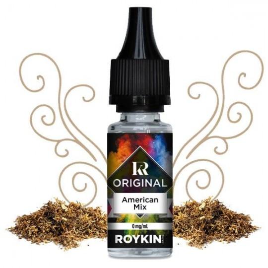Tabac American Mix - Liquide Roykin