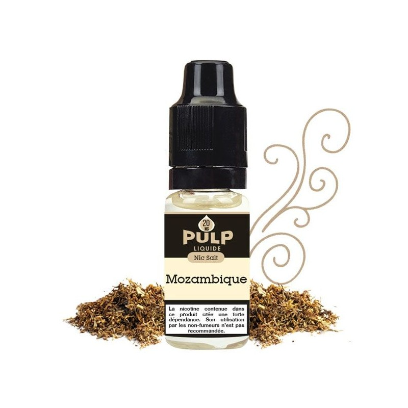 Mozambique Sel Nicotine - eLiquide PULP NS real