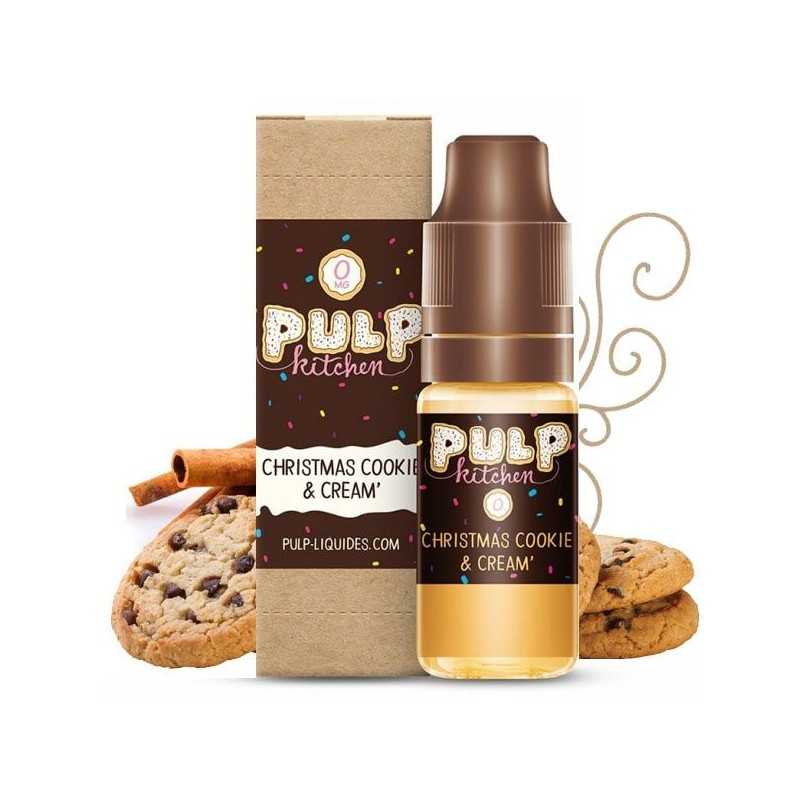 liquide Christmas Cookie and Cream - Pulp goût cookie cannelle