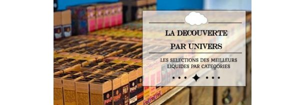 """Pack eLiquides """"Découvertes"""" 10 ml"""