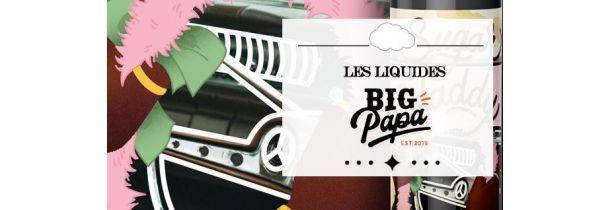 E-Liquides Big Papa 10 ml