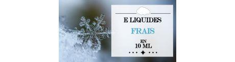 E-Liquides Frais 10 ml