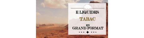 E-Liquide Tabac - Grand Format à Booster
