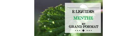 E-Liquide Menthe - Grand Format à Booster
