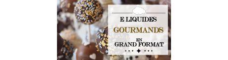 E-Liquide Gourmands - Grand Format à Booster