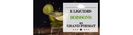 E-Liquide Boisson - Grand Format à Booster