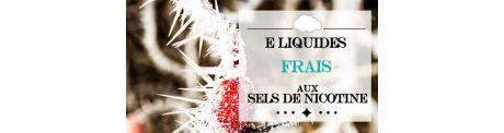 E-Liquide Frais - Sels de Nicotine