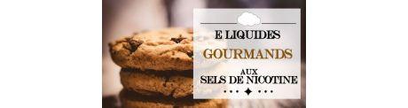 E-Liquide Gourmands - Sels de Nicotine