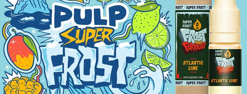 e-liquide pulp superfrost Atlantic Lime 10ml