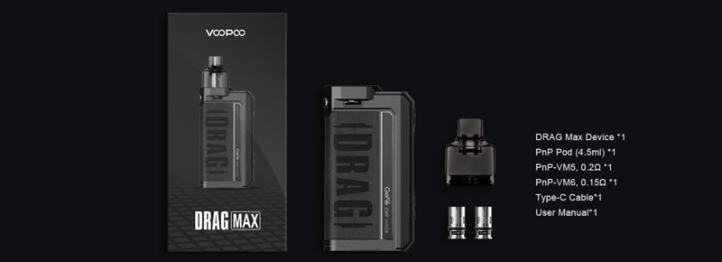 kit voopoo drag x max