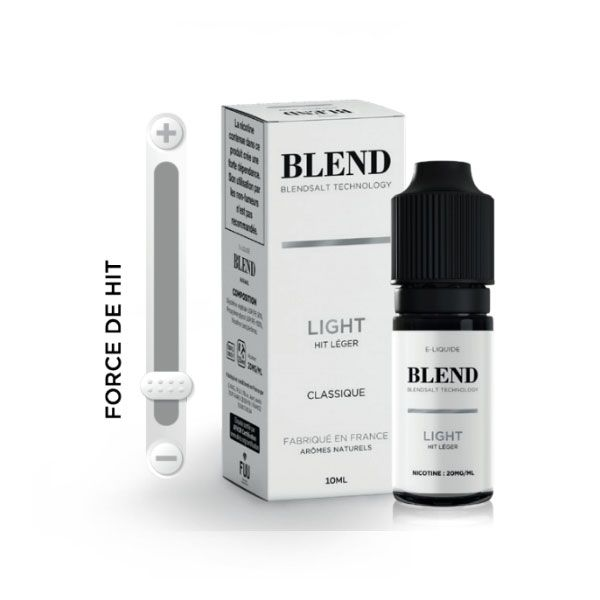 e-liquide blend light