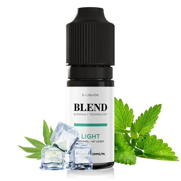 e-liquide blend menthol light