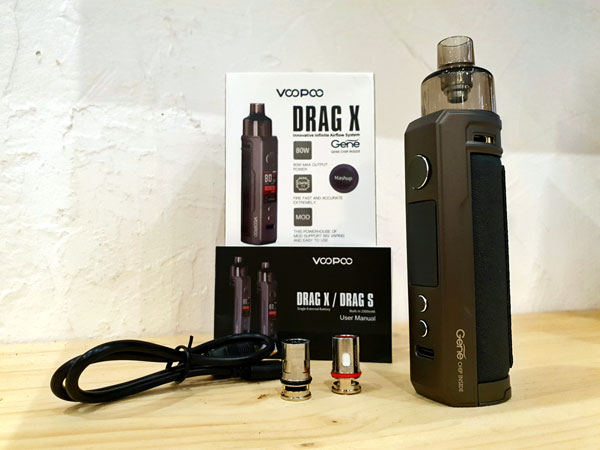 kit voopoo drag x